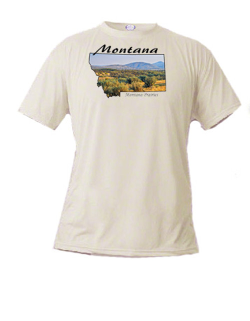 Montana t-shirt Clark Fork Country - out in the sagebrush Montana prairie