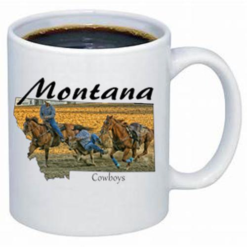 Montana Mug - Montana Cowboys