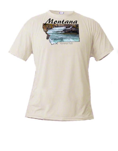 Montana  T-shirt Kootenai Falls, Libby, Montana