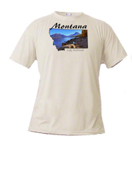 Montana t-shirt - Lake McDonald