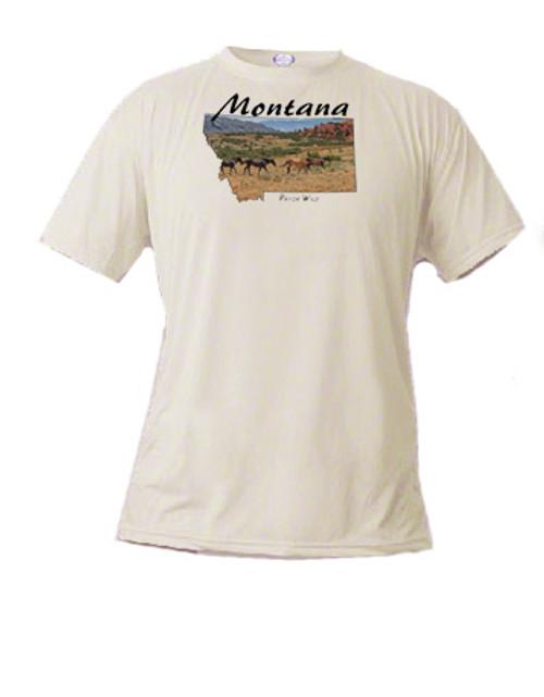 Montana's Pryor Mountain Wild Horse Range