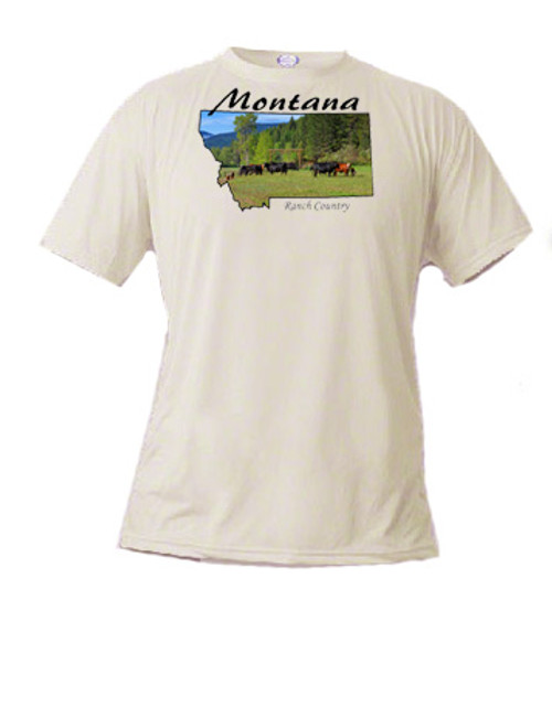 Montana t-shirt - ranch country