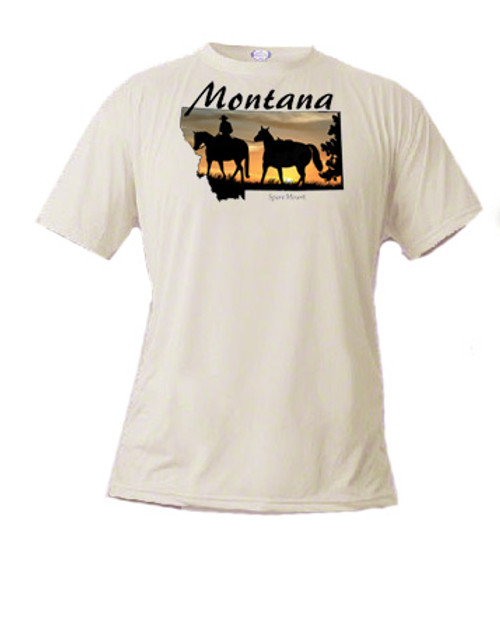 Montana Tee shirt - Spare Mount
