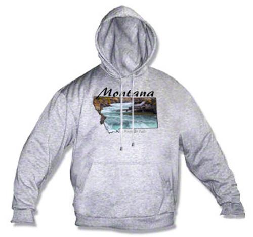 Montana hoodie - Kootenai Falls