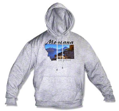Montana hoodie - lake McDonald in Glacier National Park