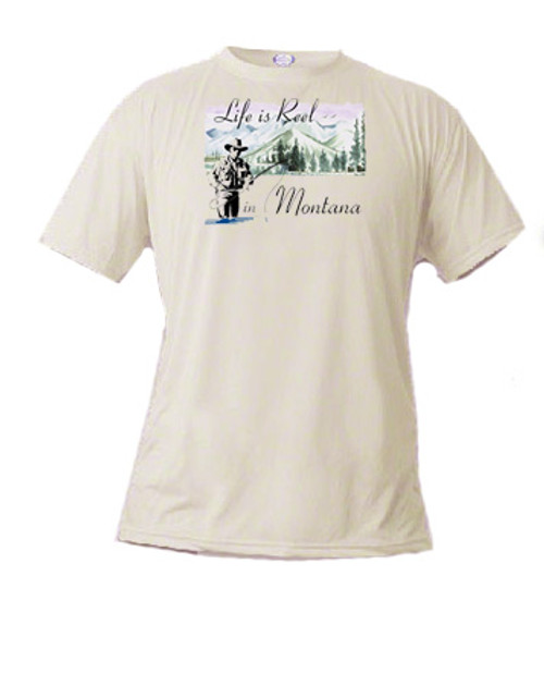 Montana Tee shirt - Life is Reel in Montana