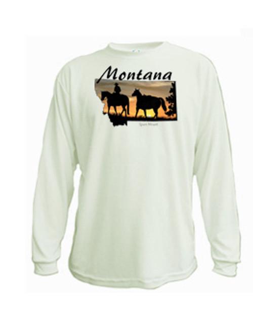 Montana Long Sleeved T-shirt - Spare Mount