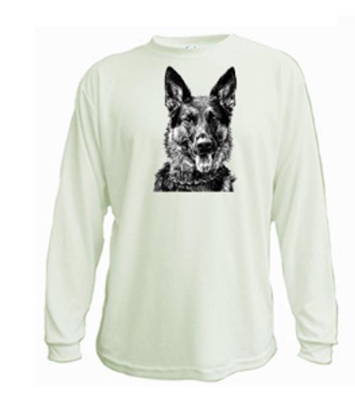 Long sleeved t-shirt German Shepherd dog