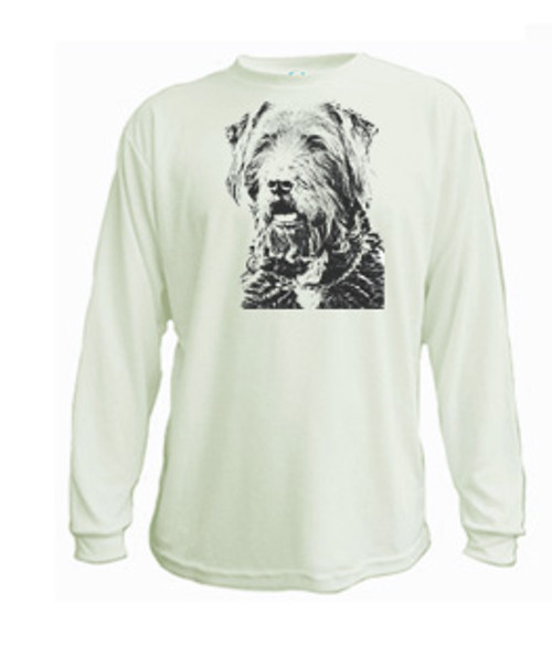 Wire-Haired Pointing Griffon long sleeved t-shirt
