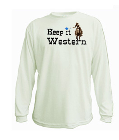 Keep it western long sleeved t-shirt