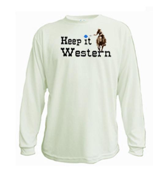 Keep it western long sleeved t-shirt