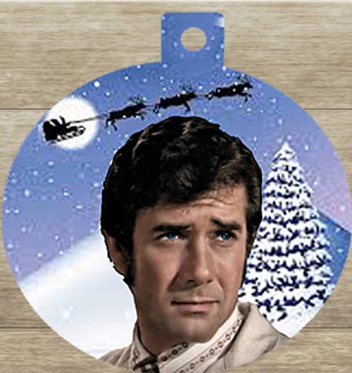Robert Fuller Christmas tree ornament-Kelly Brackett of Emergency