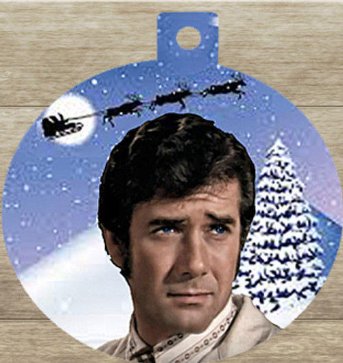 Robert Fuller Christmas tree ornament-Kelly Brackett of Emergency