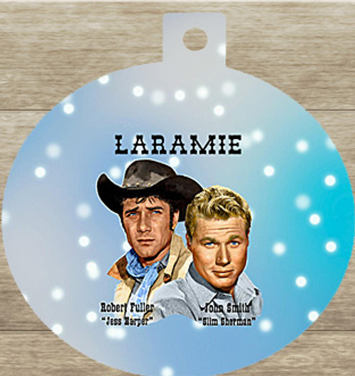Robert Fuller Christmas tree ornament-Christmas Pards