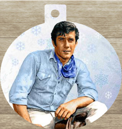 Robert Fuller Christmas tree ornament-Jess Dreaming