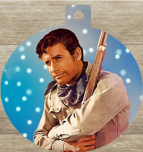 Robert Fuller Christmas tree ornament-Let it snow