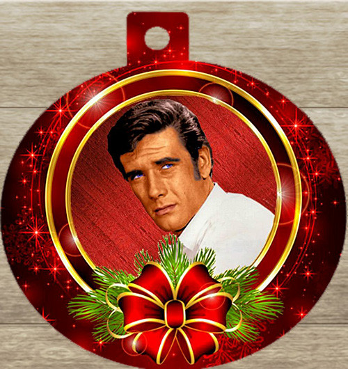 Robert Fuller Christmas tree ornament-Santa Stage