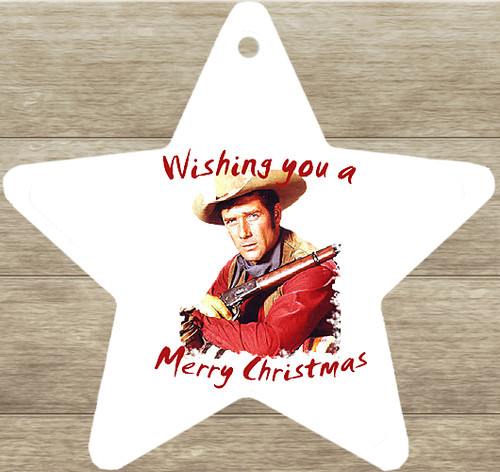 Robert Fuller Christmas tree ornament-Coop-Shooting Star