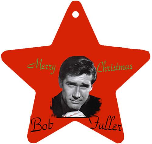 Robert Fuller Christmas tree ornament-Bob Fuller Merry Christmas