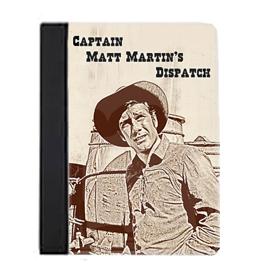 Robert Fuller Large Notebook-Matt Martin's Dispatch