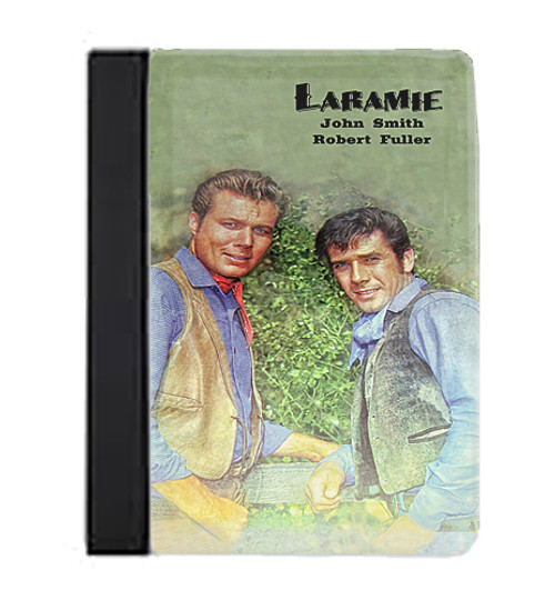 Robert Fuller Large Notebook-Laramie-John Smith and Robert Fuller