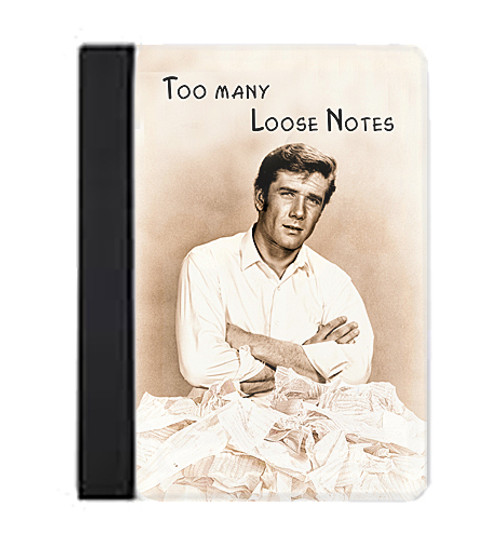 Robert Fuller Large Notebook-Too Many Loose Notes