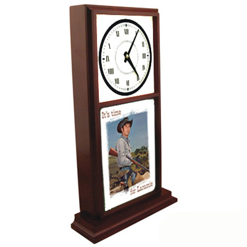 Robert Fuller Mantle Clock - Time for Laramie