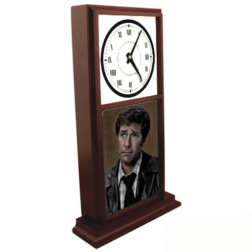 Robert Fuller Mantle Clock - Worried Dr. Brackett