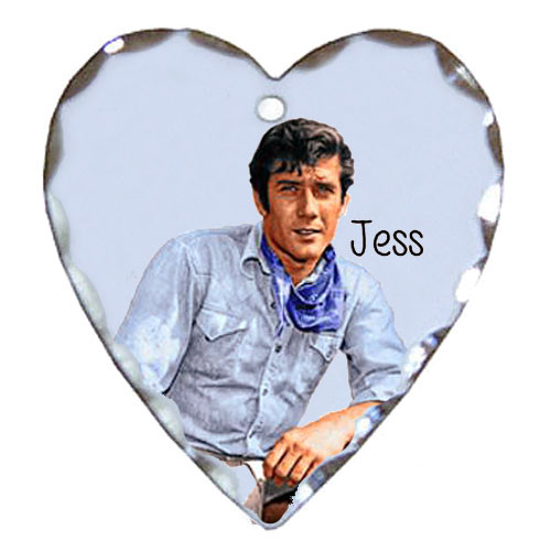 Robert Fuller silver plated heart shaped charm-Laramie's Relaxed Jess