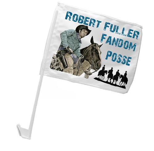 Robert Fuller Car Flag - Fandom Posse