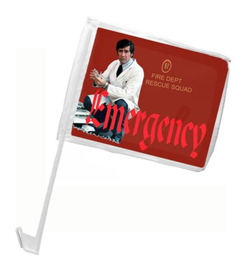 Robert Fuller Car Flag - Emergency Squad 51
