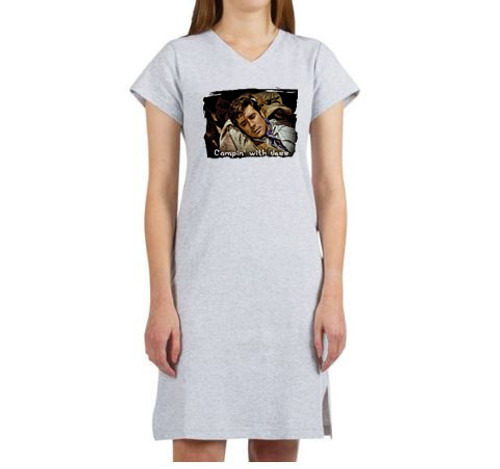 Robert Fuller Night Gown - Camping with Jess