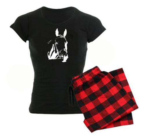 Ghost Show Horse pajama set