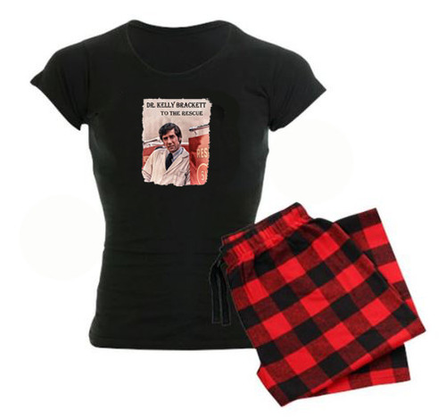 Robert Fuller Emergency pajama set -red/black plaid