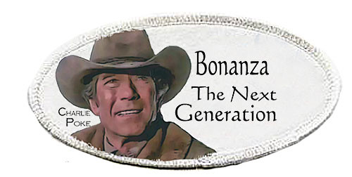 Robert Fuller-Iron on Patch-Bonanza the Next Generation