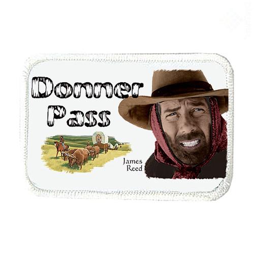 Robert Fuller-Iron on Patch-Donner Pass