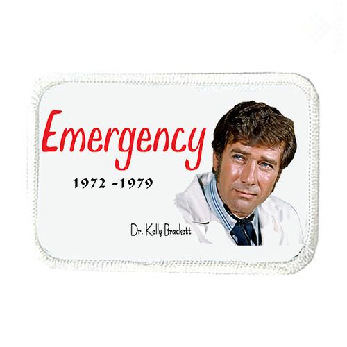 Robert Fuller-Iron on Patch-Emergency
