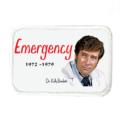 Robert Fuller-Iron on Patch-Emergency