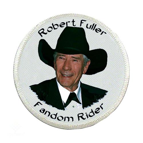 Robert Fuller-Iron on Patch-Robert Fuller Fandom Rider