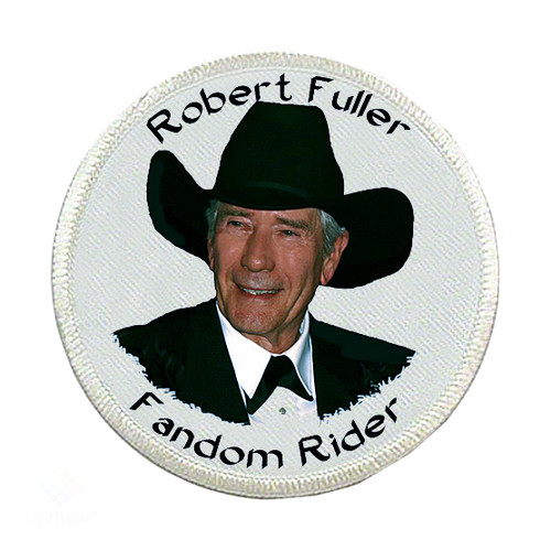 Robert Fuller-Iron on Patch-Robert Fuller Fandom Rider
