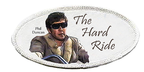 Robert Fuller-Iron on Patch-The Hard Ride