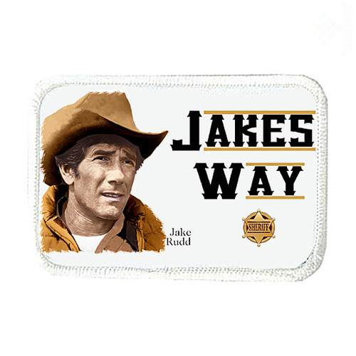 Robert Fuller-Iron on Patch-Jake' Way