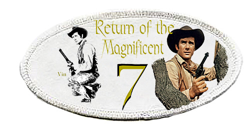 Robert Fuller-Iron on Patch-Return of the Magnificent Seven
