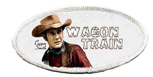 Robert Fuller-Iron on Patch-Wagon Train