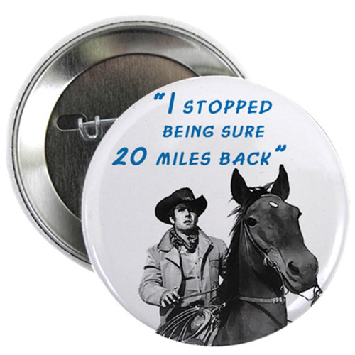 Robert Fuller Button - Unsure Jess