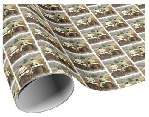 Robert Fuller Wrapping Paper - Laramie Christmas