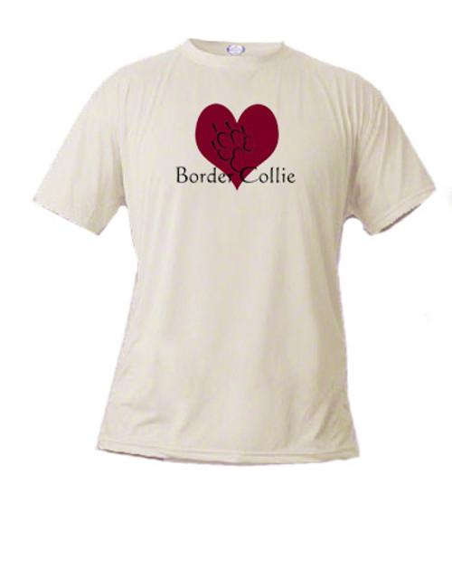 Basic t-shirt - I love Border Collies