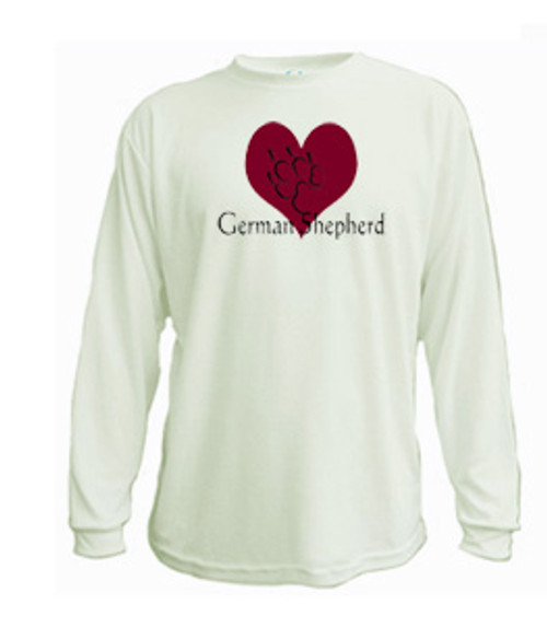 Long Sleeved t-shirt - I love German Shepherd dogs