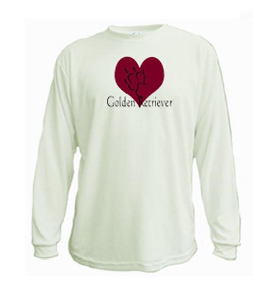 Long Sleeved t-shirt - I love Golden Retrievers