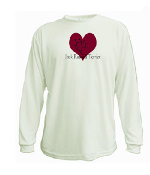 Long Sleeved t-shirt - I love Jack Russell Terriers
